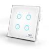 White Smart Switch (4 Gang)